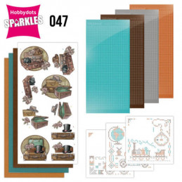 Kit Sparkles Set 47 - Vieilles valises