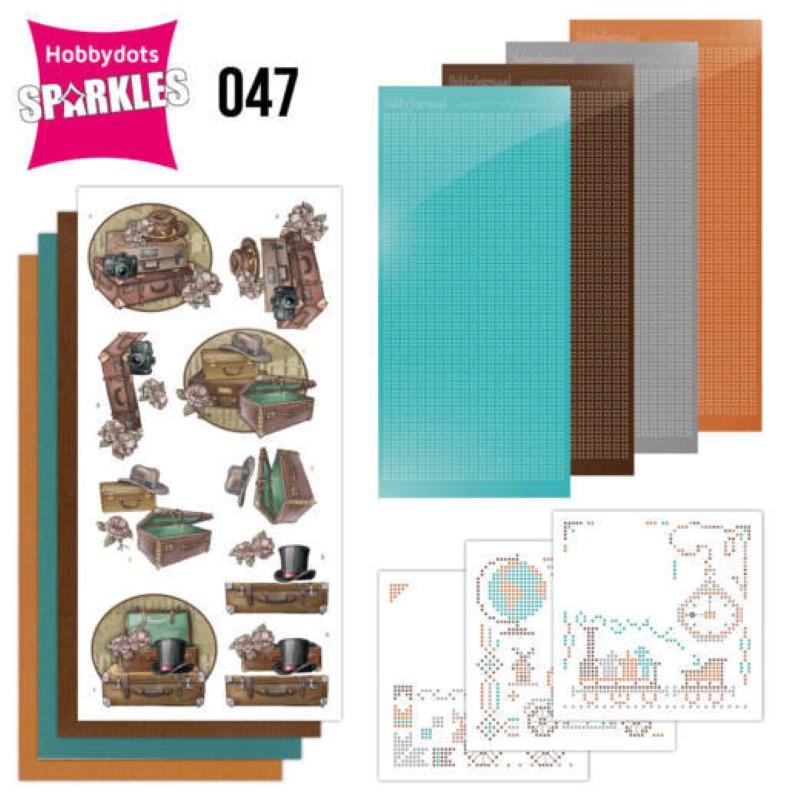 Kit Sparkles Set 47 - Vieilles valises