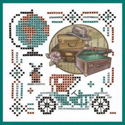 Kit Sparkles Set 47 - Vieilles valises exemple 1
