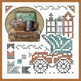 Kit Sparkles Set 47 - Vieilles valises exemple 2