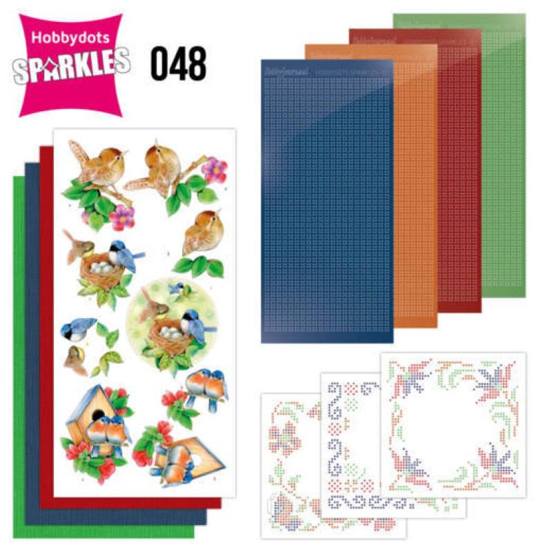 Kit Sparkles Set 48 - Oiseaux