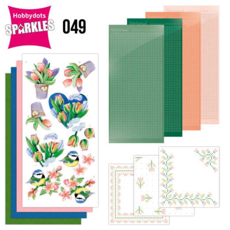 Kit Sparkles Set 49 - Tulipes
