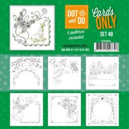 Dot and do Cartes n°48 - Lot de 6 Cartes seules
