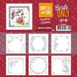 Dot and do Cartes n°49 - Lot de 6 Cartes seules