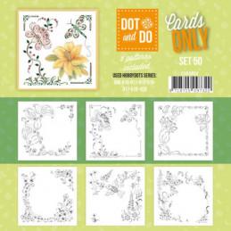 Dot and do Cartes n°50 - Lot de 6 Cartes seules