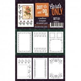 Dot and do Cartes A6 n°01 - Lot de 6 Cartes seules