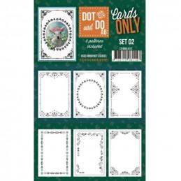 Dot and do Cartes A6 n°02 - Lot de 6 Cartes seules