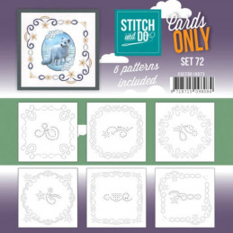 Cartes seules Stitch and do  - Set n°72