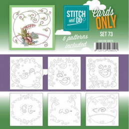 Cartes seules Stitch and do  - Set n°73