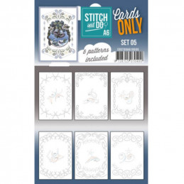 Cartes seules Stitch and do A6 - Set n°05