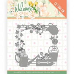 Die - Jeaninnes art - JAD10111 - Welcome Spring - Cadre printemps
