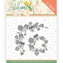 Die - Jeaninnes art - JAD10115 - Welcome Spring - Guirlandes de fleurs