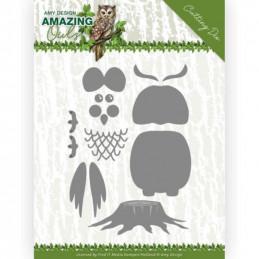 Die - ADD10216 - Amazing Owls - Fabriquer votre chouette