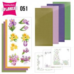 Kit Sparkles Set 51 - Fleurs de printemps