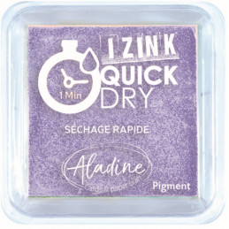 Encreur Izink Quick dry Mauve pastel  5x5 cm