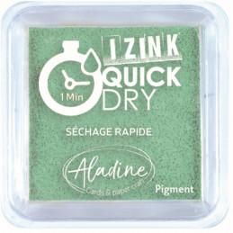 Encreur Izink Quick dry Vert d'eau 5x5 cm
