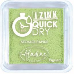 Encreur Izink Quick dry Vert anis 5x5 cm