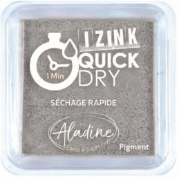 Encreur Izink Quick dry Argent 5x5 cm