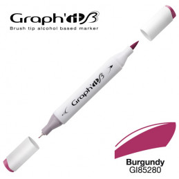 Graph'it brush marqueur à alcool 5280 - Burgundy