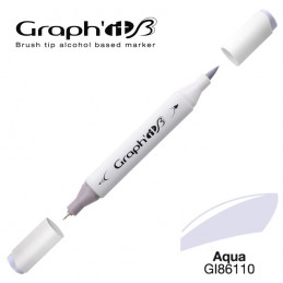 Graph'it brush marqueur à alcool 6110 - Aqua