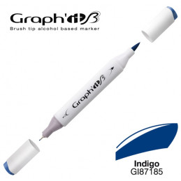 Graph'it brush marqueur à alcool 7185 - Indigo