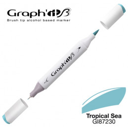 Graph'it brush marqueur à alcool 7230 - Tropical sea