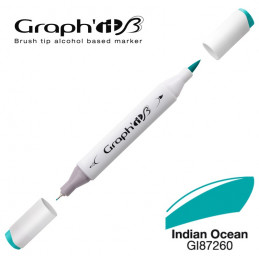 Graph'it brush marqueur à alcool 7260 - Indian ocean