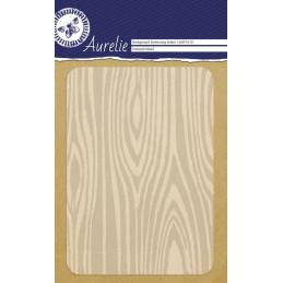 Classeur d'embossage fond Texture bois 10.6 x 15 cm