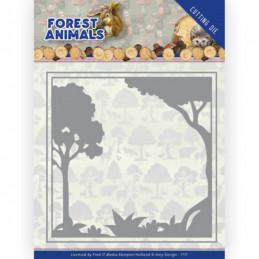 Die - ADD10231 - Forest Animals - Cadre forêt