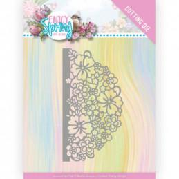 Die - ADD10239 - Enjoy Spring - Demi Cercle fleur