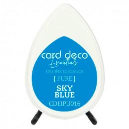 Encre pigmentée à séchage rapide résistante Bleu Ciel