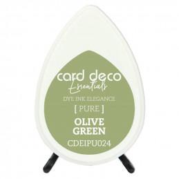 Encre pigmentée à séchage rapide résistante Vert OLive