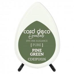 Encre pigmentée à séchage rapide résistante Vert Sapin