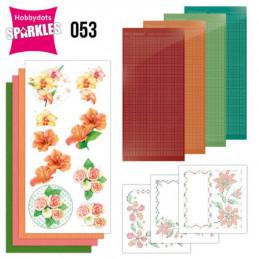 Kit Sparkles Set 53 - Fleurs exotiques