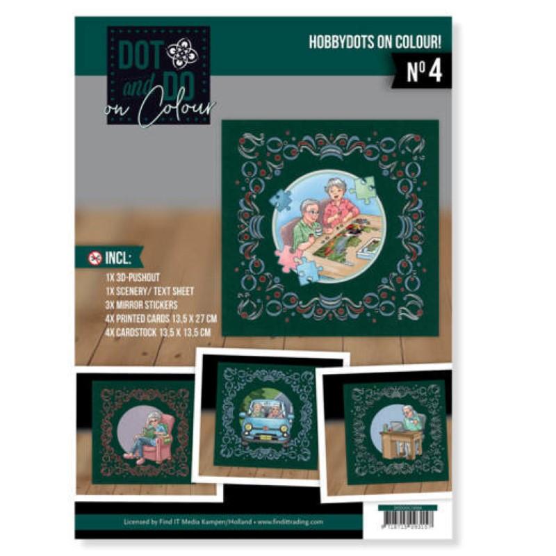 Dot and Do on Colour 4 - Kit Carte 3D - Hobbies