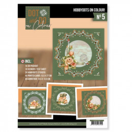 Dot and Do on Colour 5 - Kit Carte 3D - Romantic roses