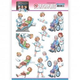 Carte 3D prédéc. - SB10548 - Professions - Infirmières