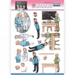 Carte 3D prédéc. - SB10551 - Professions - Hommes