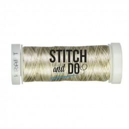 Fils à broder Stitch and Do mixte bobine de 200m Kraft