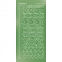 Stickers Hobbydots série 20 Miroir Lime