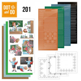Dot and do 201 - kit Carte 3D  - Professions