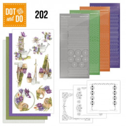 Dot and do 202 - kit Carte 3D  - Papillons