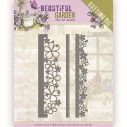 Dies - PM10203 - Beautiful garden - Bordures fleuries