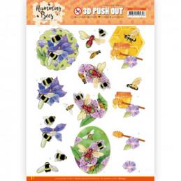 Carte 3D prédéc. - SB10557 - Les abeilles - Miel
