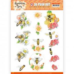 Carte 3D prédéc. - SB10559 - Les abeilles - la reine des abeilles
