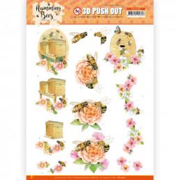 Carte 3D prédéc. - SB10560 - Les abeilles - la ruche