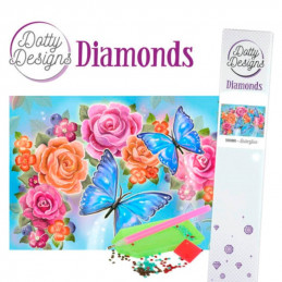 Broderie Diamant - Butterfly