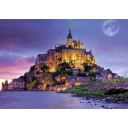 Broderie Diamant - Le Mont Saint Michel 40X50cm
