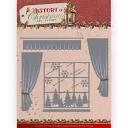 Die - ADD10243 - History of christmas - Fenêtres et rideaux