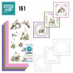 Stitch and do 161 - kit Carte 3D broderie - Le meilleur Noël de tous les temps